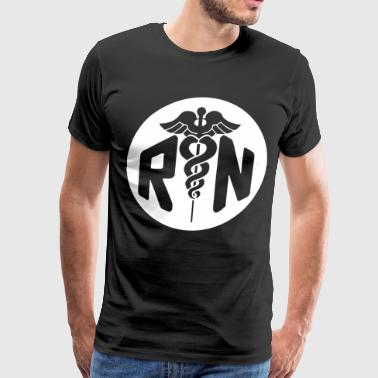 RN Nurse - Men's Premium T-Shirt