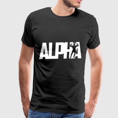 Alpha gym - Men's Premium T-Shirt