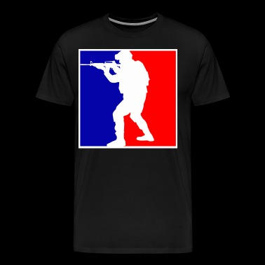 SOLDIER NBA - Men's Premium T-Shirt