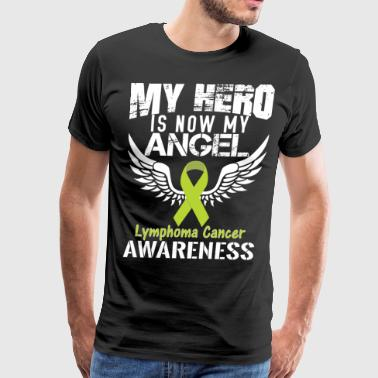 Lymphoma Cancer Awareness - Men's Premium T-Shirt