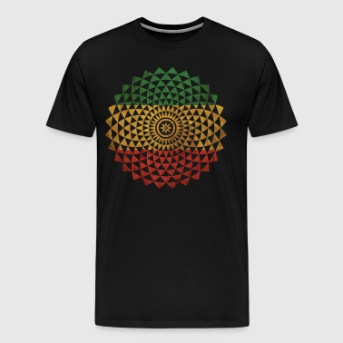 Rasta Flower - Men's Premium T-Shirt