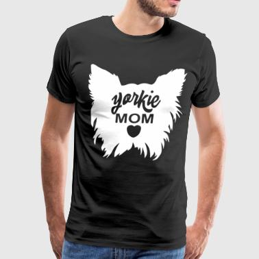 Yorkie Mom - Men's Premium T-Shirt