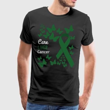 Liver Cancer Awareness - Men's Premium T-Shirt