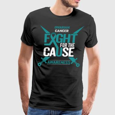 Ovarian Cancer Awareness - Men's Premium T-Shirt