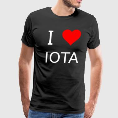 I love Iota - Men's Premium T-Shirt