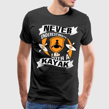 A Man With A Kayak T Shirt - Men's Premium T-Shirt