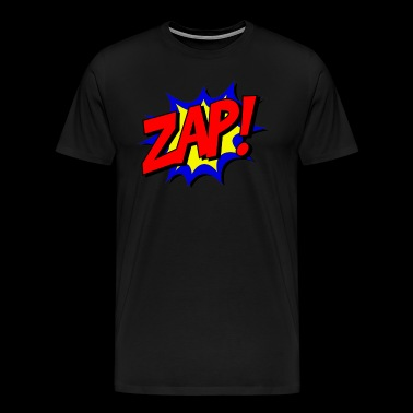 zap comic kids children - Men's Premium T-Shirt