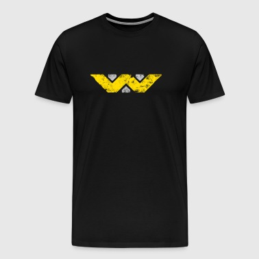 Alien - 'Weyland-Yutani' Distressed - Men's Premium T-Shirt
