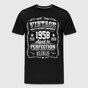 Vintage 1958 Aged to Perfection - Men's Premium T-Shirt