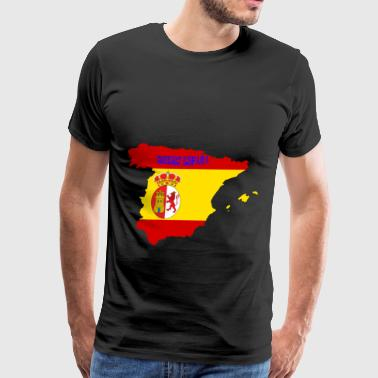 Spain T-shit - Men's Premium T-Shirt