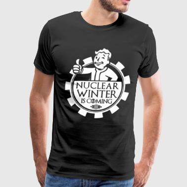 Nuclear winter is comming t-shirts - Men's Premium T-Shirt