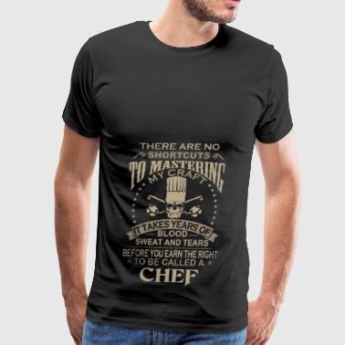 Chef Blood Sweat and Tears - Men's Premium T-Shirt