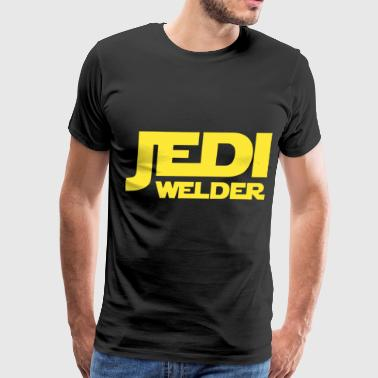 Jedi Welder Mens Star Wars Starwars Gift - Men's Premium T-Shirt