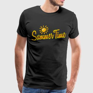 Summer Time Gift Shirt - Men's Premium T-Shirt