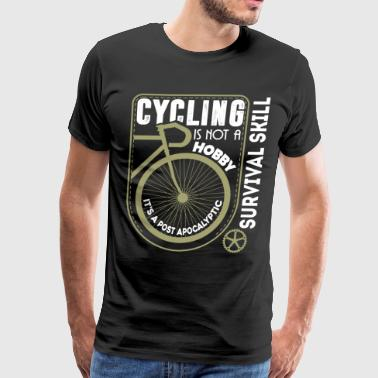 Cycling Is A Survival Skill T Shirt - Men's Premium T-Shirt