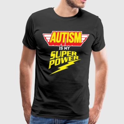 AUTISM AWARENESS SHIRT FOR KIDS - AUTISM POWER - Men's Premium T-Shirt
