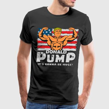 Donald Pump - Color - Men's Premium T-Shirt