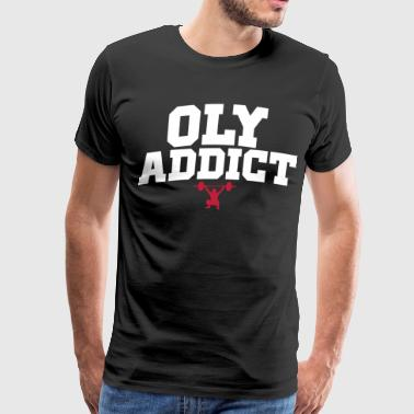 oly_addict - Men's Premium T-Shirt