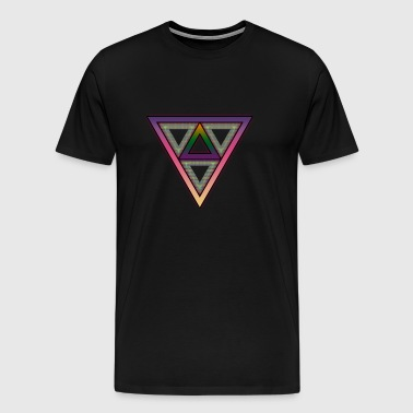 Infused Triangle - Men's Premium T-Shirt