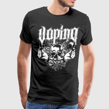 VAPING E PEN electronic vape e - Men's Premium T-Shirt