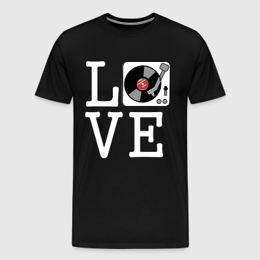 i love vinyl - Men's Premium T-Shirt