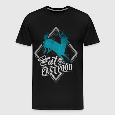 Eat More Fast Food - Men's Premium T-Shirt