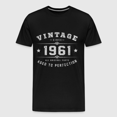 1961 Aged To Perfection - Men's Premium T-Shirt