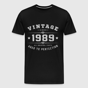 1989 Aged To Perfection - Men's Premium T-Shirt