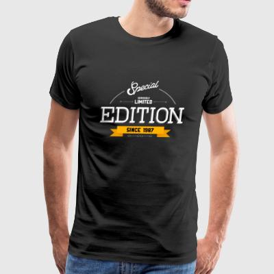Special Seriously Limited Edition Since 1987 Gift - Men's Premium T-Shirt