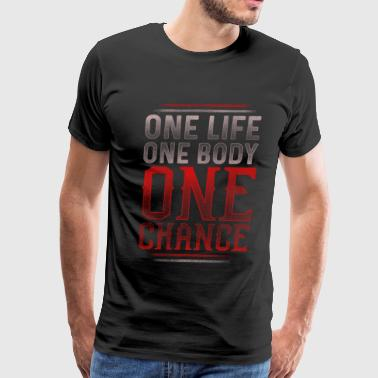 One Life - Fitness - Men's Premium T-Shirt