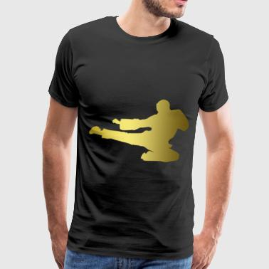 Taekwondo Kick game T Shirts - Men's Premium T-Shirt