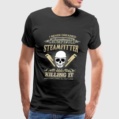 STEAMFITTER - Men's Premium T-Shirt