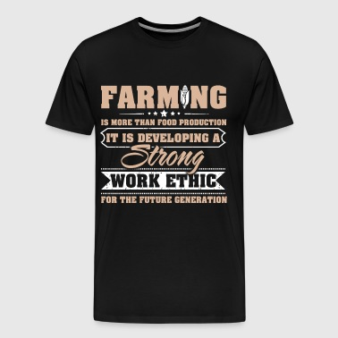 farmer, farmers wife farmer gift daughter - Men's Premium T-Shirt