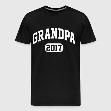 Grandpa 2017 - Men's Premium T-Shirt