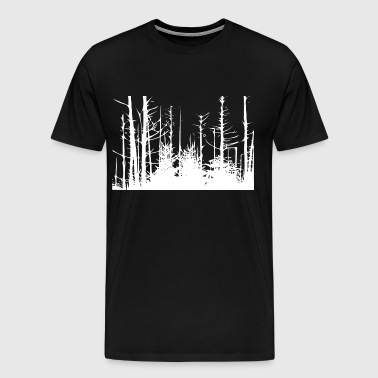 Forest Trees - Men's Premium T-Shirt
