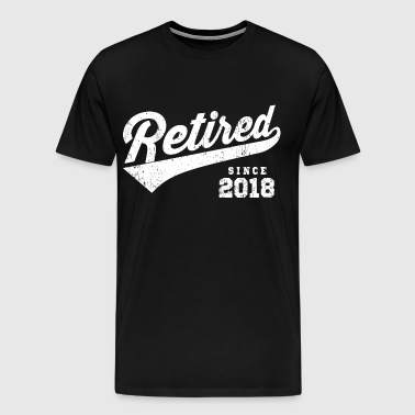 Retired Since 2018 - Men's Premium T-Shirt