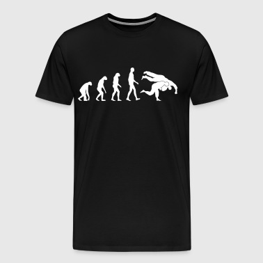 evolution judo - Men's Premium T-Shirt