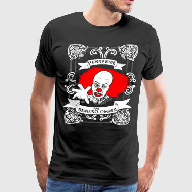 Pennywise The Dancing Clown it Stephen King Horror - Men's Premium T-Shirt