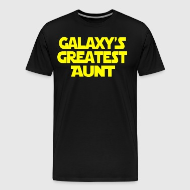 Galaxy's Greatest Aunt - Men's Premium T-Shirt