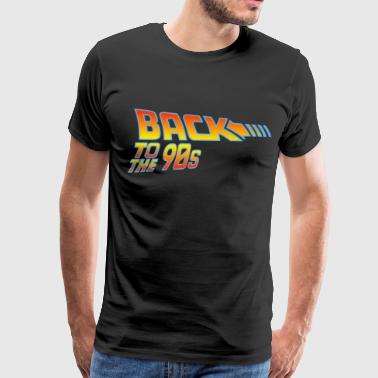 Back To The 90s - Men's Premium T-Shirt