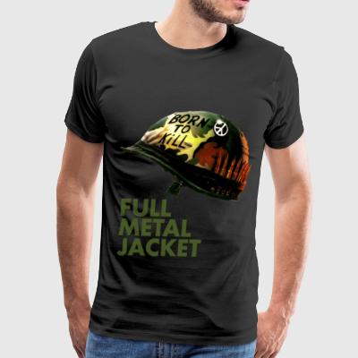 The Duality of Man - Full Metal Jacket - Men's Premium T-Shirt