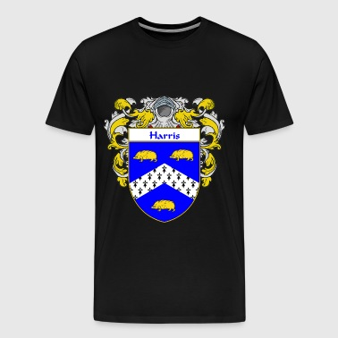harris_coat_of_arms_mantled - Men's Premium T-Shirt
