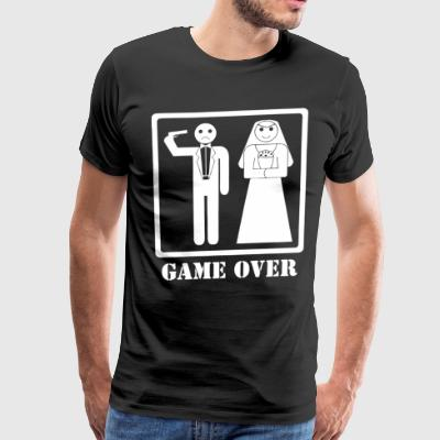Jga Shirt Game Over Junggesellenabschied - Men's Premium T-Shirt