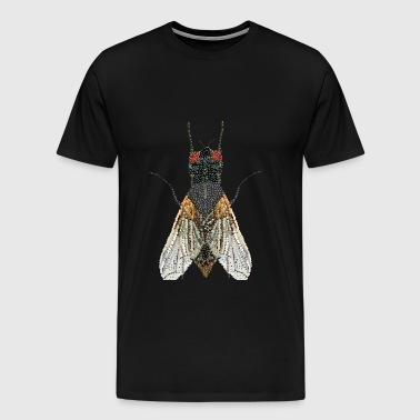 House Fly Bedazzledt - Men's Premium T-Shirt