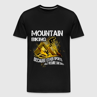 Mountain biking T-shirt - Mountain biking - Men's Premium T-Shirt