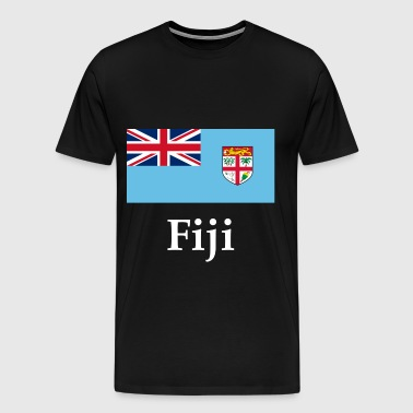 Fiji Flag - Men's Premium T-Shirt