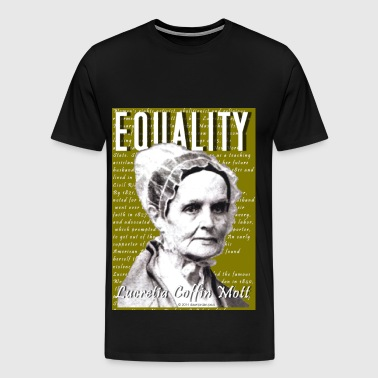 02 Lucretia Coffin Mott Classic - Men's Premium T-Shirt