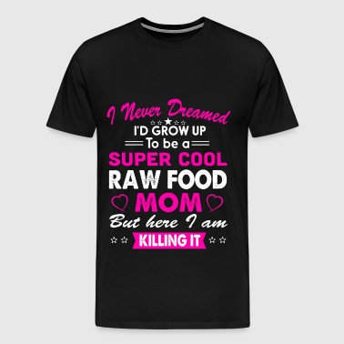 7 Raw food Mom - Men's Premium T-Shirt