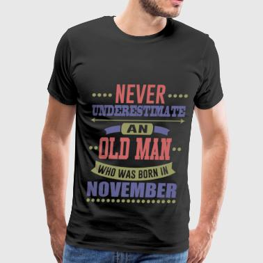 NOVEMBER 1.png - Men's Premium T-Shirt