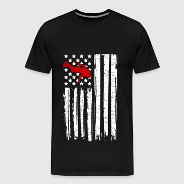 dive flag 13.png - Men's Premium T-Shirt
